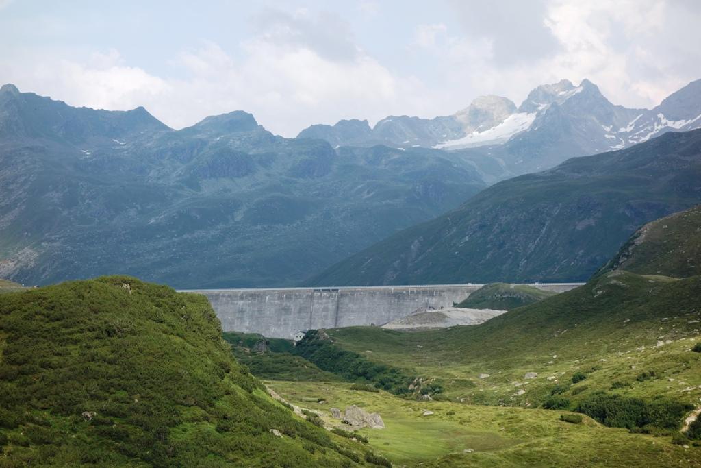 Silvretta Stausee – Staudamm