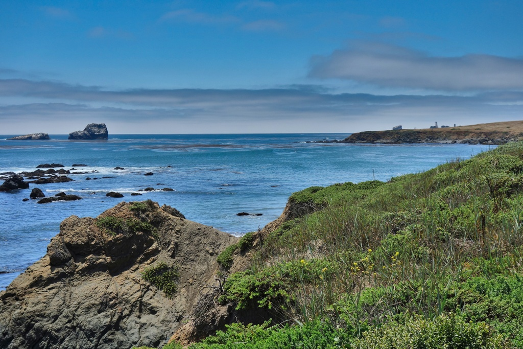 Kalifornien Steilküste