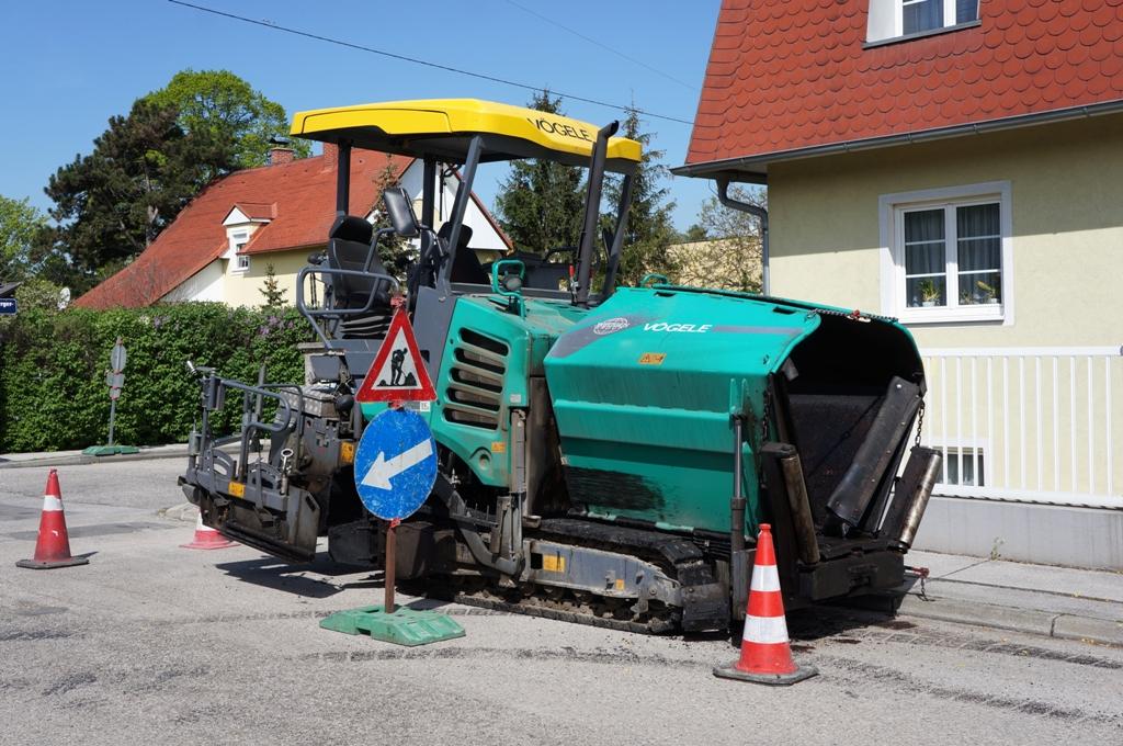 Achtung Straßenbauarbeiten