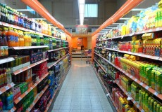 Supermarkt Einkaufen Shopping