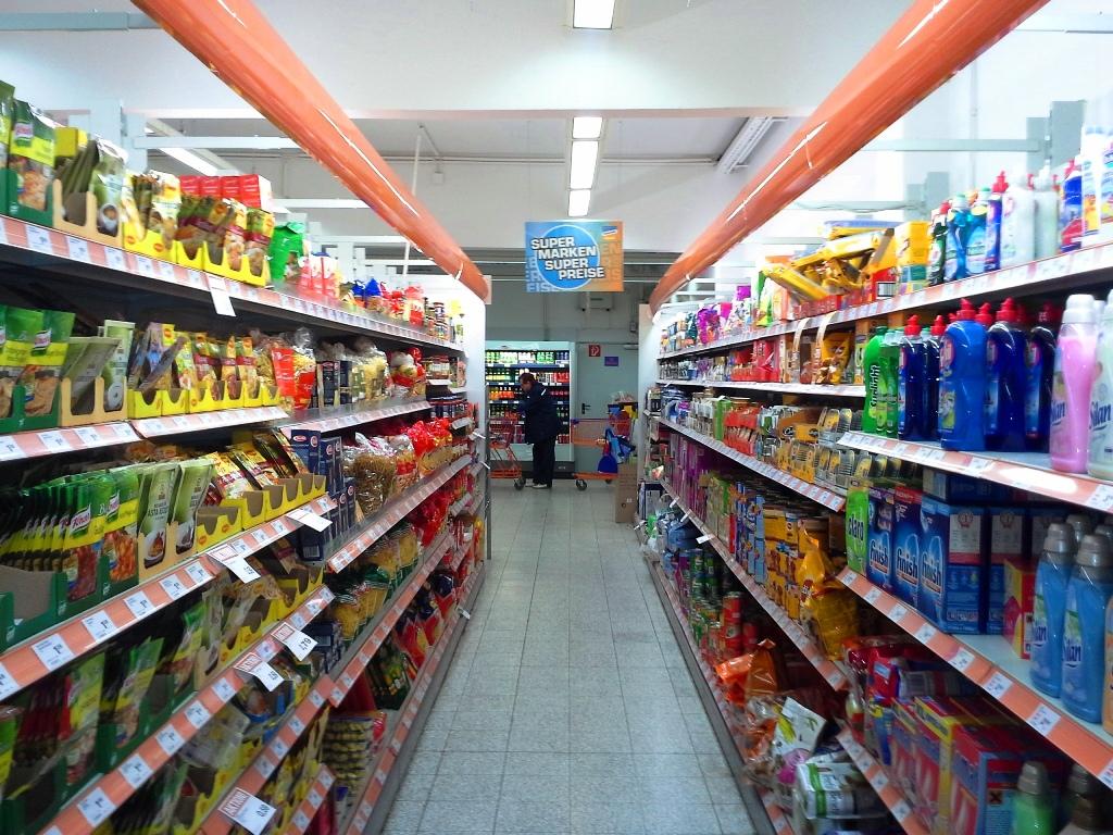 Supermarkt Einkaufen Shoppen