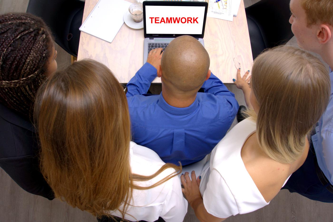 Teamwork – Wir arbeiten zusammen