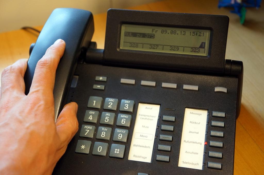 Telefon beantworten