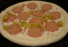 Tiefkühlpizza 1