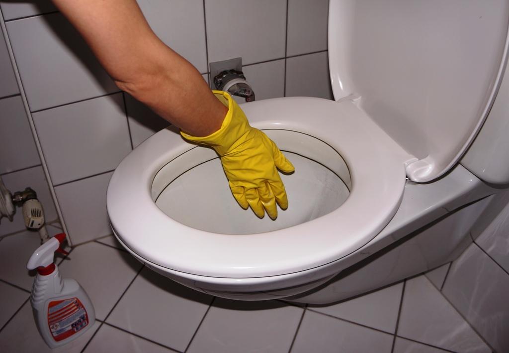 Toilette Reinigung