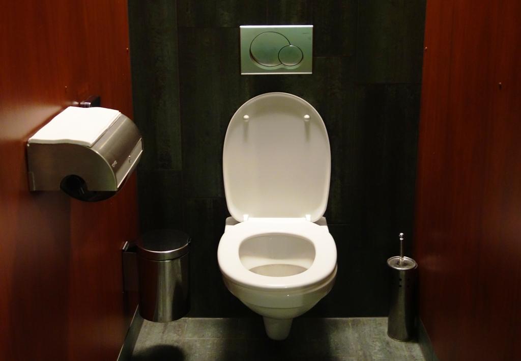 Toilette im Restaurant