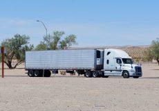 Kalifornien Wüste Truck Lkw