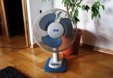 Ventilator Hundstage Hitzewelle
