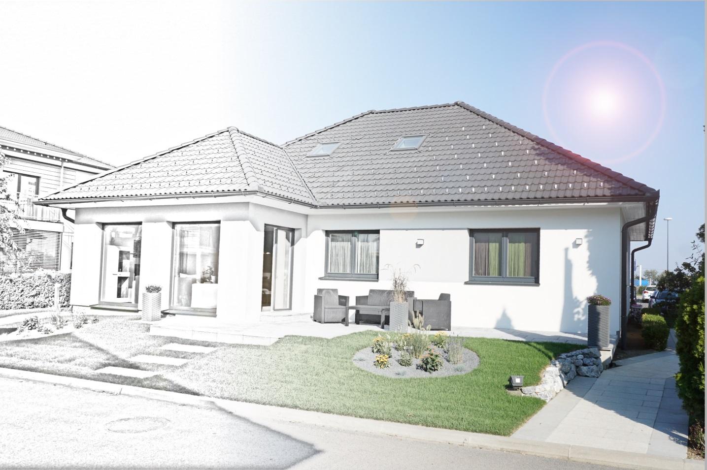 Von der Zeichnung zum fertigen Haus Architekt Baumeister ...