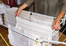 Hausarbeit – Wäsche aufhängen