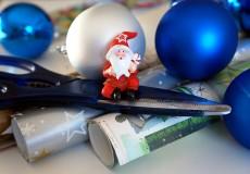 Geschenke einpacken Weihnachten