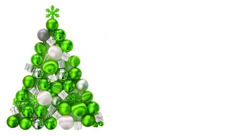 weihnachten weihnachtsbaum aus gr nen kugeln lizenzfreie fotos bilder kostenlos. Black Bedroom Furniture Sets. Home Design Ideas