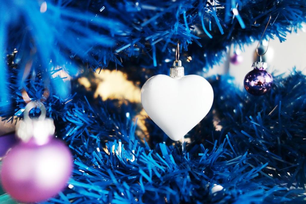 Weihnachtsbaum Blau künstlich