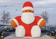 Weihnachtsmann Parkplatz