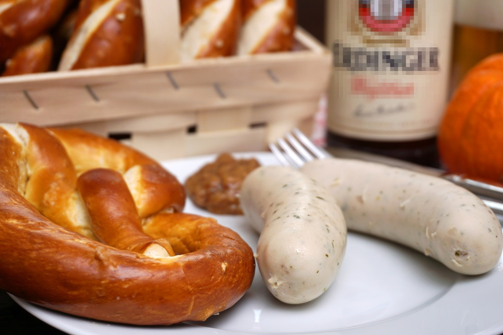 Oktoberfest, Brezel, Weisswurst