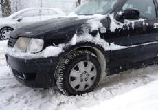 Schneefall Wintereinbruch 1