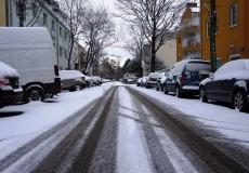 Winterliche Straße 1