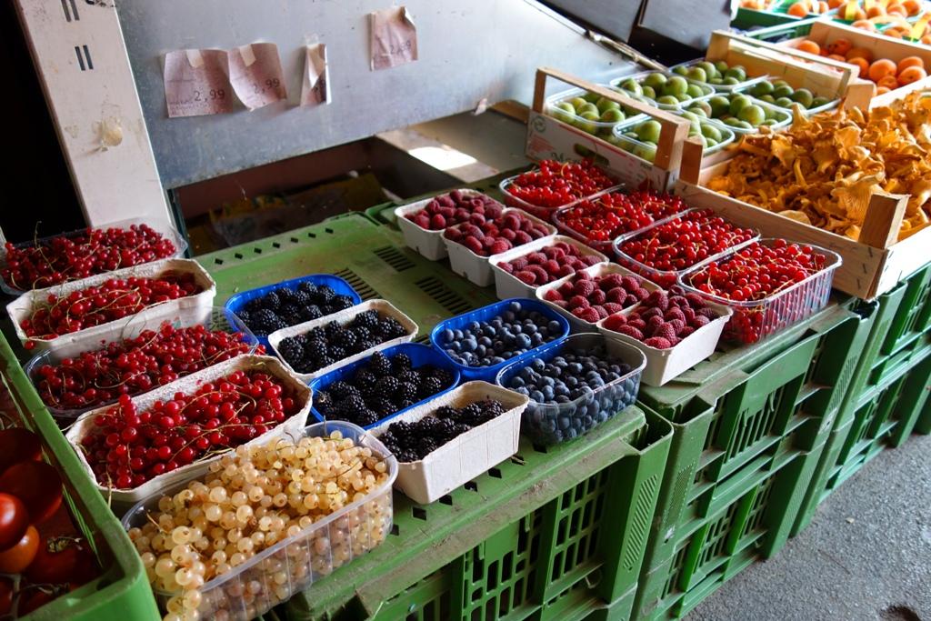 Wochenmarket – Obst & Gemüse
