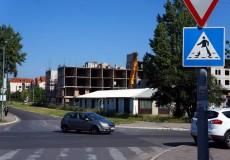 Zerstörtes Wohnhaus Belgrad