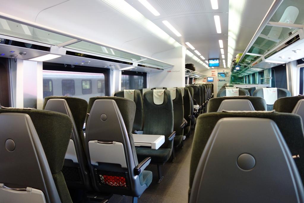 Bahnreise – Zugreise – Zugabteil